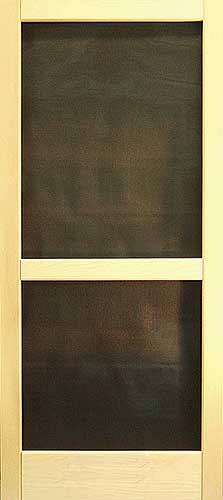 Custom Wood Screen Doors