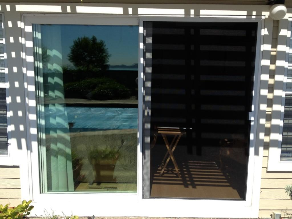 Sliding Screen Door w/ Pet Screen